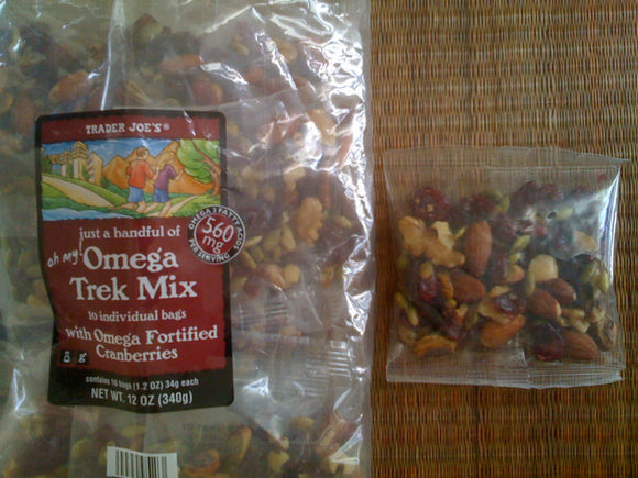 Trader Joe's Just a Handful of Omega Trek Mix