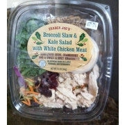 Trader Joe's Kale and Broccoli Slaw Salad