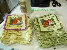 Trader Joe's Garlic Basil Linguine Pasta