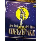 Trader Joe's New York Deli Style Cheesecake