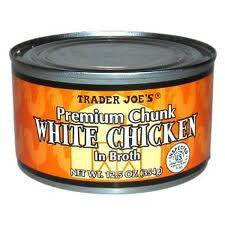 Trader Joe's Premium Chunk White Chicken (in Broth)