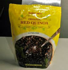 Trader Joe's Organic Quinoa (Red)