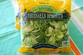 Trader Joe's Shaved Brussel Sprouts
