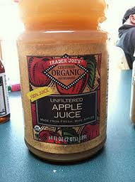 Trader Joe's Unfiltered Organic Apple Juice