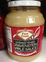 Trader Joe's Unsweetened Gravenstein Apple Sauce