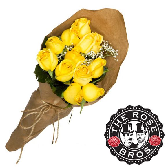 36 Stem Yellow Rose Bouquet