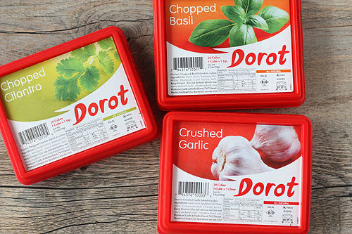 Dorot Chopped Garlic (20 Cubes. 1 Cube=1Tsp.) (Frozen)