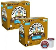 Newmans Organics Coffee Pods K Cups Regular Blend