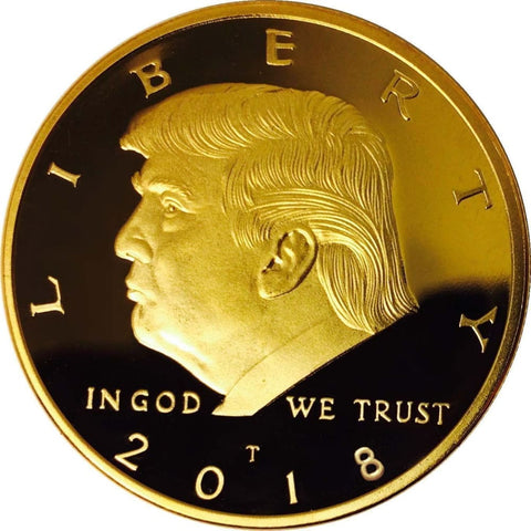2018 Donald Trump Gold Coin - Coin