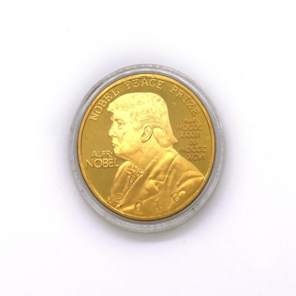 2018 Donald Trump NOBEL PEACE PRIZE Coin - Coins and Currency