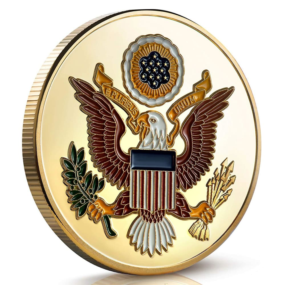 2018 Keep America Great Trump Challenge Coin - Gold Plated