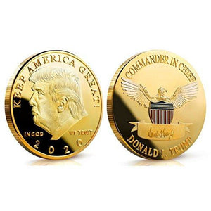 2020 Donald Trump Keep America Great Coin - Gold Plated - Collector's Edition