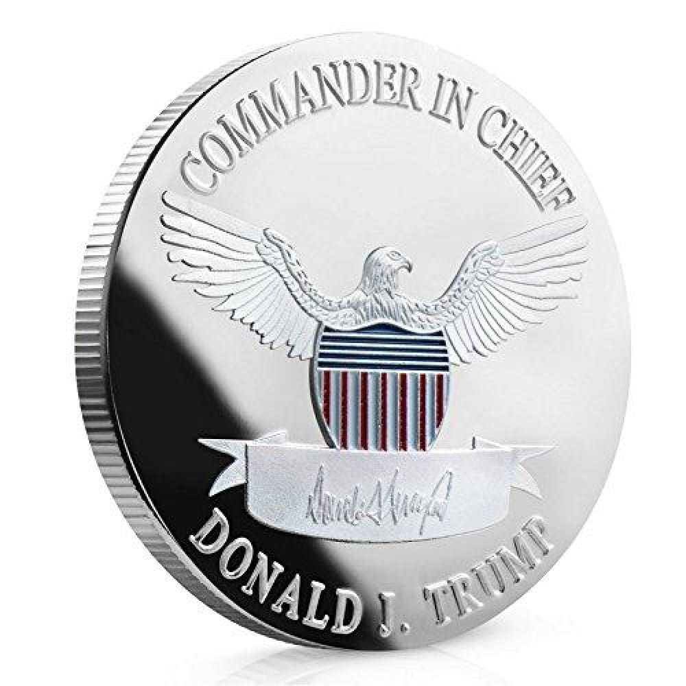 2020 Donald Trump Keep America Great Coin - Silver Plated - Collectors Edition - Coin