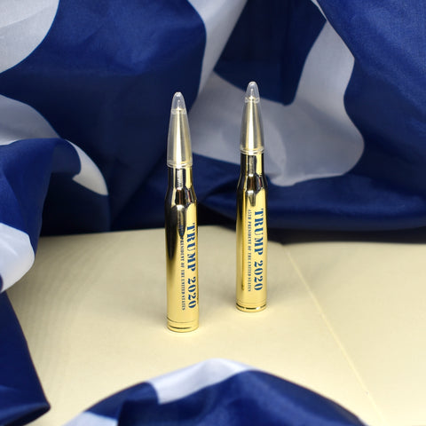 Image of Trump's 2020 30-Caliber Bullet Pens (Set of 2)