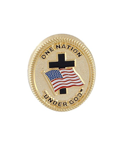 One Nation Under God pin