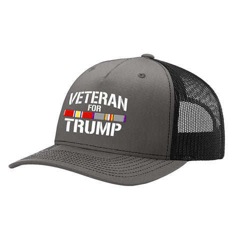 Cold War Veteran For Trump Trucker Hat