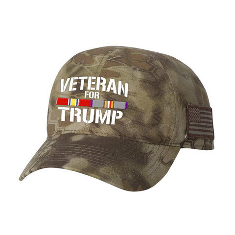 Cold War Veteran For Trump Kryptek Hat
