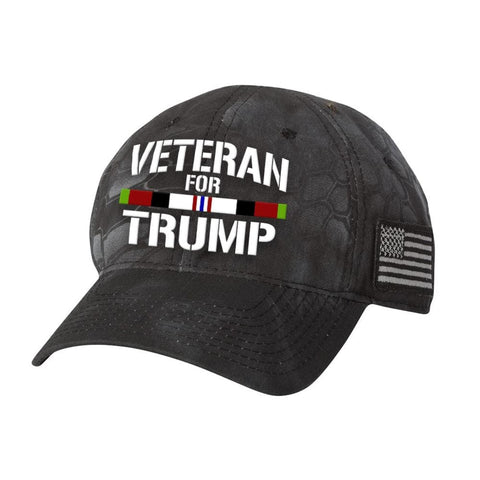 Afghanistan Veteran For Trump Kryptek Hat - Highlander - Hats