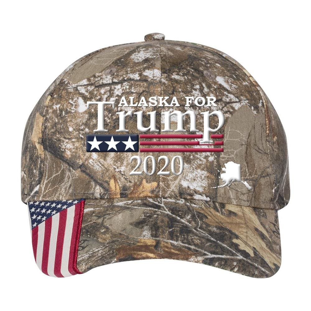 Edge Of Alaska New Season 2020 Donald Trump Collectables   Alaska For Trump 2020 Hat