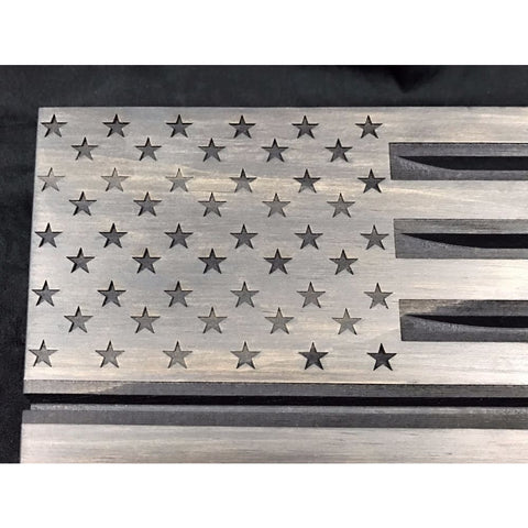 Image of American Flag Challenge Coin Display - Coin Holder