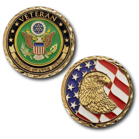 Army Veteran Challenge Coin