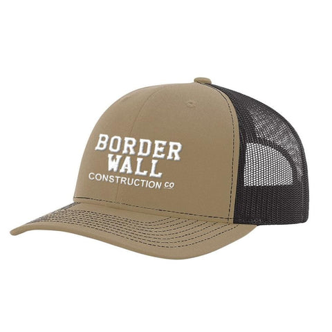 Image of Border Wall Hat - Khaki & Coffee