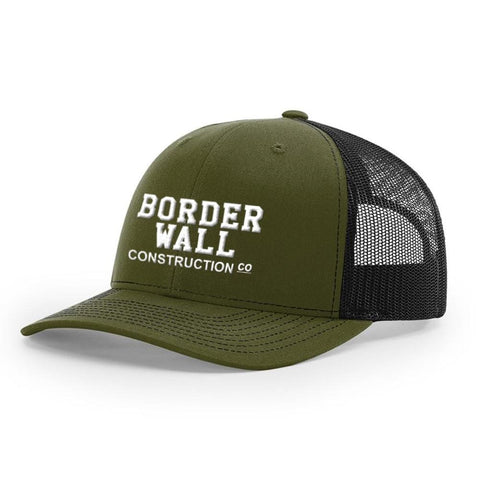 Image of Border Wall Hat - Loden & Black