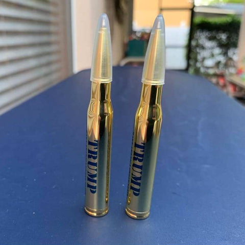 Trump's Lock and Load 30-Caliber Bullet Pens (Pack of 2) - FREE! Just pay shipping