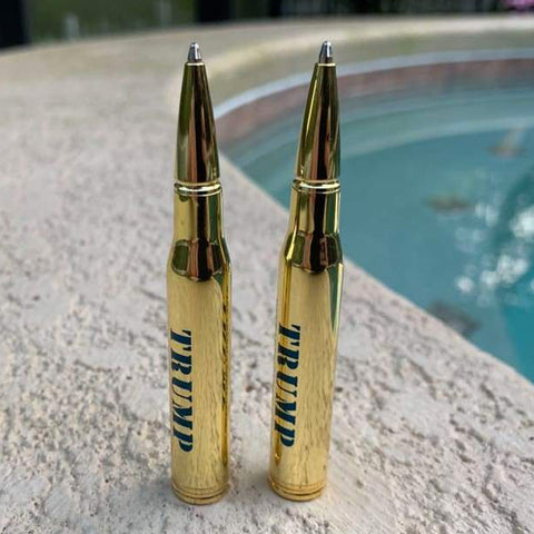 Trump's Lock and Load 30-Caliber Bullet Pens (Pack of 2)