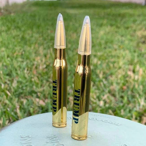 Image of Trump's Lock and Load 30-Caliber Bullet Pens (Pack of 2) - FREE! Just pay shipping