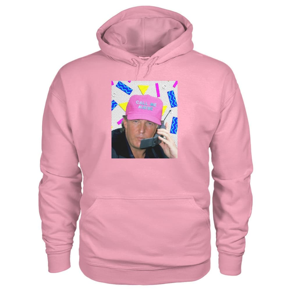 Call Me Maybe Hoodie - Classic Pink / S - Hoodies