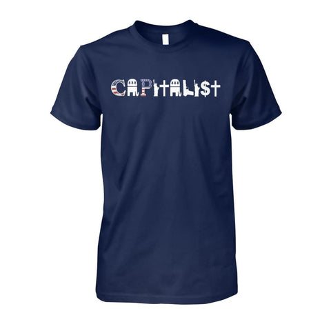 Image of Capitalist T-Shirt - Navy / S