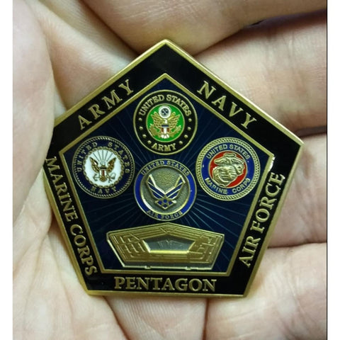 Image of Department of Defense Pentagon Coin - Coin