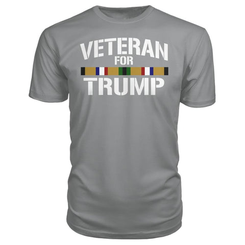 Desert Storm Veteran for Trump - City Green / S / Premium Unisex Tee - Short Sleeves