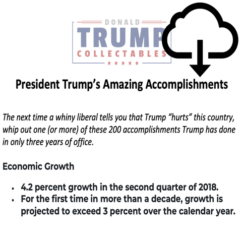 Free Digital Download: 200 Amazing Trump Accomplishments
