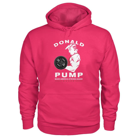 Image of Donald Pump Hoodie - Heliconia / S - Hoodies