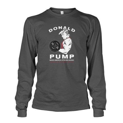 Image of Donald Pump Long Sleeve - Charcoal / S - Long Sleeves