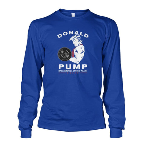 Image of Donald Pump Long Sleeve - Royal / S - Long Sleeves