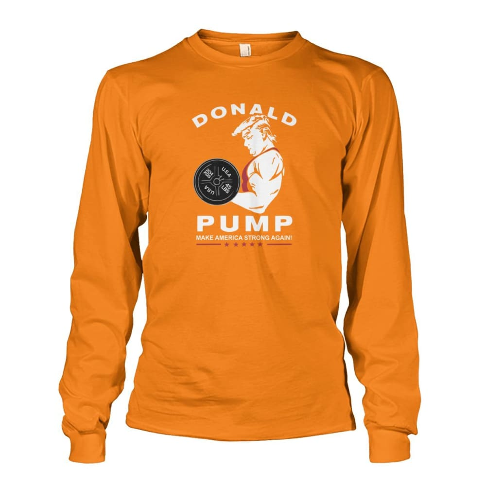 Donald Pump Long Sleeve - Safety Orange / S - Long Sleeves