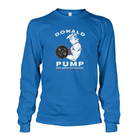 Image of Donald Pump Long Sleeve - Sapphire / S - Long Sleeves