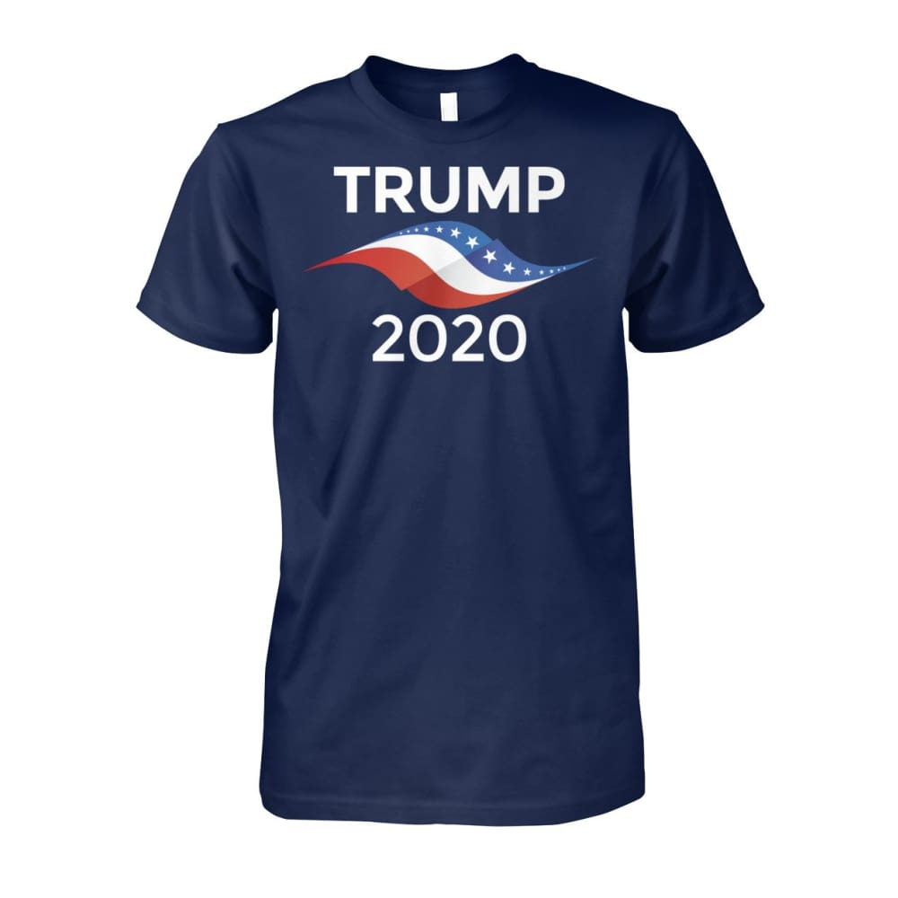 Donald Trump 2020 Blue T-Shirt - Navy / S - Short Sleeves