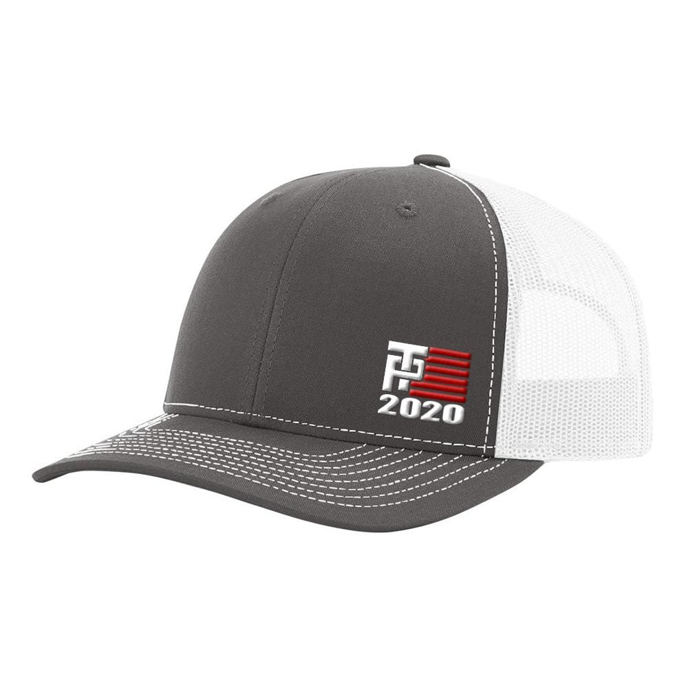 Donald Trump 2020 Hat - Charcoal & White