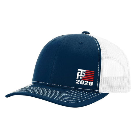 Donald Trump 2020 Hat - Navy & White