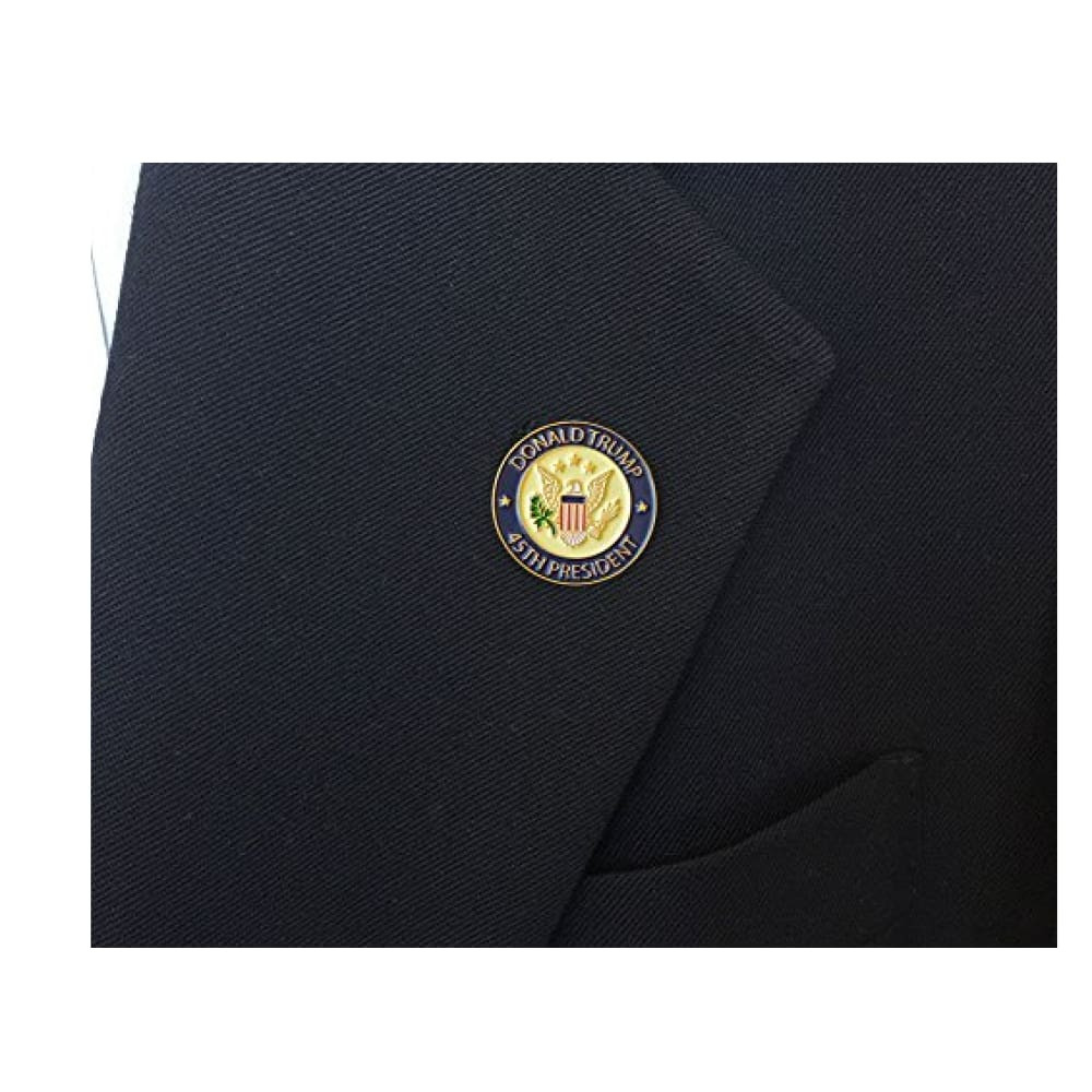 Donald Trump 45th President Lapel Pin