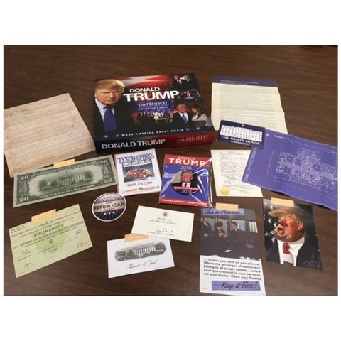 Image of Donald Trump: 45th President of the United States Collectors Vault