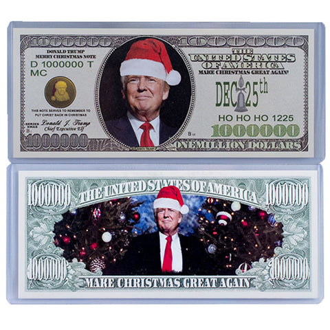Donald Trump Christmas Collectors Bill - Bill