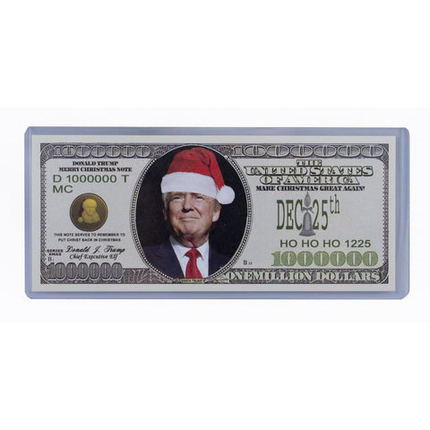 Image of Donald Trump Christmas Collectors Bill - Bill