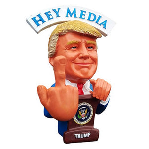Donald Trump F.U. Liberals/Media Bobblehead