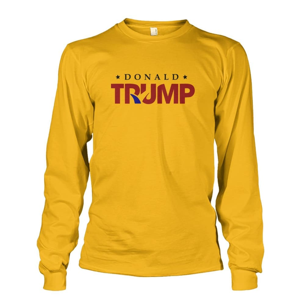 Donald Trump Long Sleeve - Gold / S - Long Sleeves