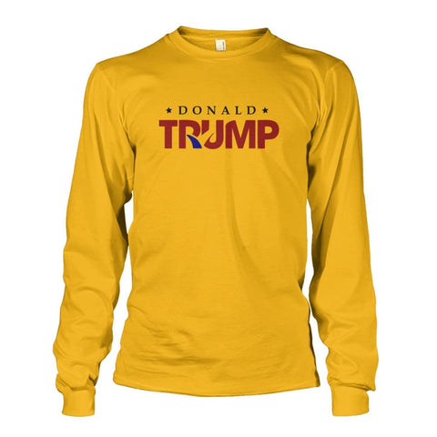Image of Donald Trump Long Sleeve - Gold / S - Long Sleeves